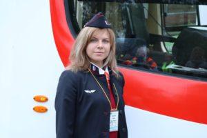 Лучшим водителем трамвая в Петербурге стала Елена Плисова