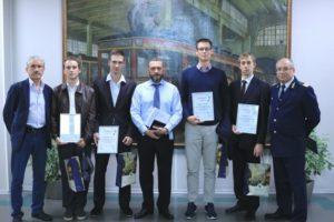 Студентам ПГУПС вручили сертификаты о прохождении стажировки в Горэлектротрансе