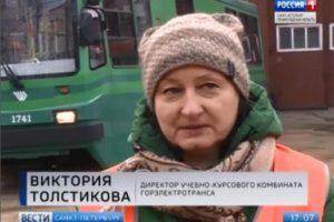 Петербургских журналистов научили водить трамвай