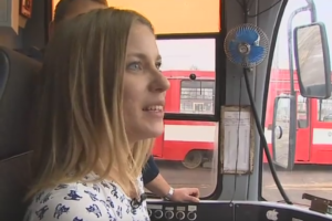 Трамвайный тренажёр и учебный трамвай