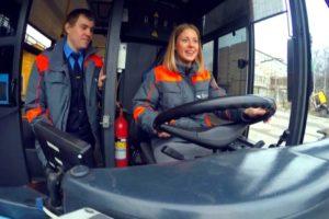Будь в форме: Водитель троллейбуса